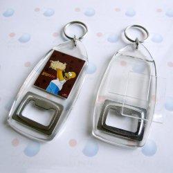 Дешевые акриловый бутылок с цепочки ключей для поощрения