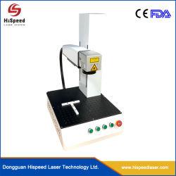 로고를 위한 휴대용 Laser 표하기 기계, 공장 가격을%s 가진 고품질에 있는 전화 상자를 위한 섬유 Laser 표하기 기계