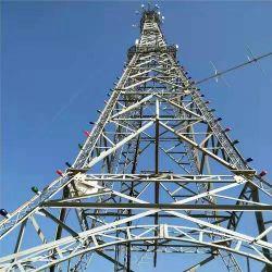 Sinal telemóvel 5G Ângulo telecomunicações Telecomunicações Torre de aço