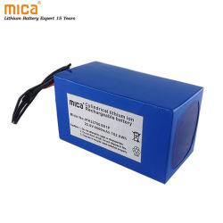 工場はBMS承認される再充電可能な李イオン電池OEM ODM IEC62133のセリウムUn38.3を直接25.6V 24Vのリチウムイオン電池6000mAh 6ah 32700に供給する
