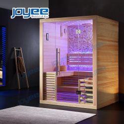 Joyee 2 4 persone bagno Sexy Sauna Finlandia Pioppo Cedro Angolo Home Sauna De Vapor Mini Sauna Infred