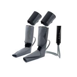 Eenvoudig op te berg Air Compression Therapy System voetensteun met knieverwarming, draagbare compressie poot voetenpoot