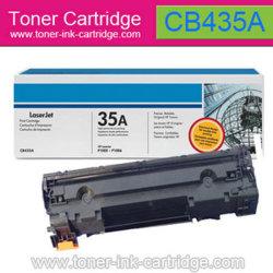 Schwarze Toner-Patrone für HP Cb435a (35a)