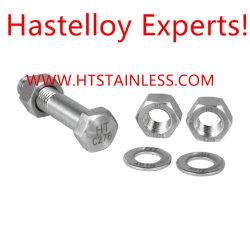 Hastelloy Hex Schraube, Hastelloy Hex Kopfschraube, Hastelloy U Schraube, 2.4819 Schraube, C276 Schraube, Schraube N10276