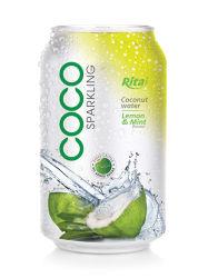 330ml het Water van de Kokosnoot van het Aroma van de citroen & van de Munt