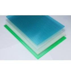 Comercio al por mayor blanco del techo de lámina de acrílico transparente de policarbonato de color personalizados PC Hoja hueco