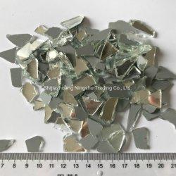 Espejo blanco Cullet trozos de vidrio vidrio triturado Cullet Piedra para Terrazzo piso de concreto