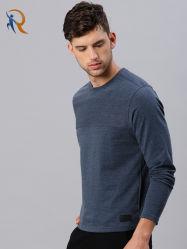 De openlucht Kleding van de Mensen van de T-shirt van de Sporten van de Kleur van het Embleem van de Douane Trendy Stevige