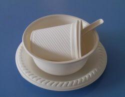 Recipiente bianco da 350 ml da 125 ml per confezionamento di alimenti veloci