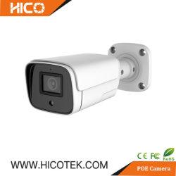 8MP 4K IRの小型弾丸のドーム人間Aiの検出128GB SDのカードが付いている可聴周波アラームマイクロフォンCCTV IP Poeのカメラ
