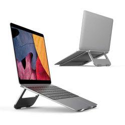 Эргономичная подставка для портативных компьютеров алюминиевых металлическую подставку компьютерные принадлежности планшетного ноутбука держателя стойки складная подставка подставка для охлаждения MacBook Air PRO, iPad, Dell XPS