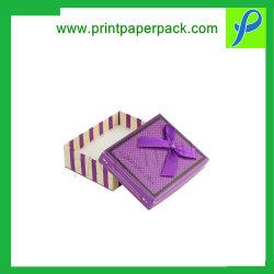 Custom Logo Karton Folding Jewelry Packaging Box, Populaire Velvet Pad Voor Oorbellen Verpakking, Groothandel Papier Sieraden Dozen