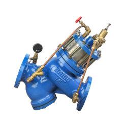 Filtrador Buildin Wcb tipo pistão da válvula reguladora de Redução de Pressão Ajustável