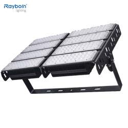 테니스 코트 정원 공원 차고 실내 옥외 정착물 150lm/W SMD5050 300W 400W LED 플러드 빛