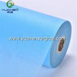 Salon de beauté Examen médical le rouleau de papier jetable de lit drap de lit