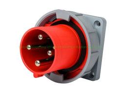 125A 4P 415 V appareil industriel retardateur de flamme de socket