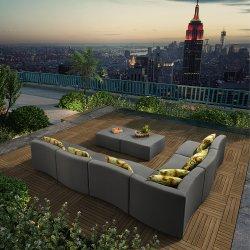 وقت فراغ فندق/بيتيّة حديثة [لوونج شير] خارجيّة حديقة [أوفوستري] بناء أريكة مجموعة