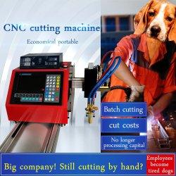 100UMA LUZ Plasma CNC e de finalidade dupla chama máquina de corte de Metal de Baixo Custo da máquina de corte