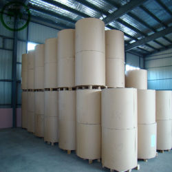 48-80g de peso ligero recubierto de papel de impresión Offset en forma de carrete