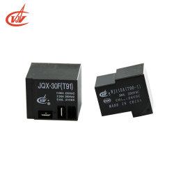 Jqx-15f PCB 힘 릴레이 40A 5pins 소형 전자기 릴레이 T90