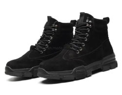 Daim Steel Toe Kevlar spécial cuir Semelle intercalaire Bootss de sécurité