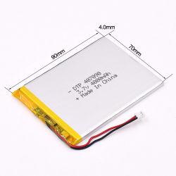 Литий-полимерные батареи с 3,7 в 4000 Мач для цифровой фотокамеры