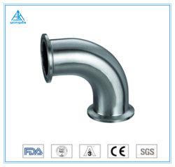 304/316L instalações sanitárias em aço inoxidável de montagem do tubo do tubo 45 graus do cotovelo de soldadura macho de 2 polegadas