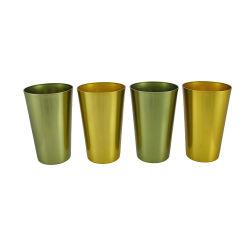 Promoção de alumínio de Design do logotipo 16 Oz Beverage chávena de café