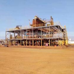 La gravité des organes de battage chute en spirale pour l'usine de traitement de sable de silice