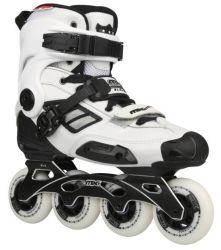 Qualidade elevada 65kg de carga máx. Solado PP Freestyle patins em linha agressivo
