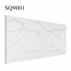Or Calacatta blanc poli /Noir/Gris artificielles de surface /Engineered /synthétiques ou artificielles de dalles de pierre de quartz avec prix d'usine