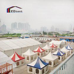Jardin Chinois de gros 6x6m tente Pagode de l'événement petite partie de la famille tente