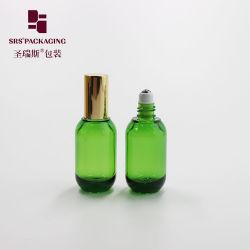 Nuevos Productos forma redonda de 18 ml Rollo en la botella de aceite esencial de Dubai