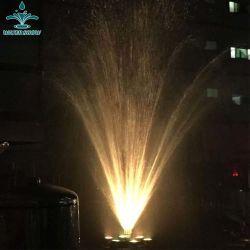 Décoration de jardin en acier inoxydable de l'eau de pulvérisation des buses à jet Fontaine Fireworks
