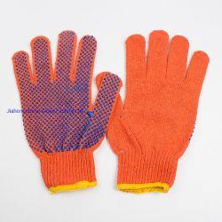700 g Gants tricotés avec Mouchetures en PVC sur un côté