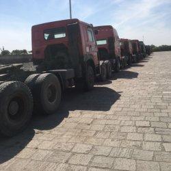 Utilisé HOWO HOWO camion tracteur 375HP pour l'Afrique d'expédition de la tête de chariot