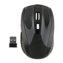 2.4GHzパソコンのラップトップのためのUSBの受信機を持つ無線光学マウスはロゴをカスタマイズできる