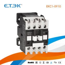Ekc1-0904 4p 09A 415VCA Contacteur avec Intertek Ce CB