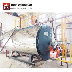 Chaudières à gaz de pétrole 1-25 Tph l'eau chaude Chaudière à vapeur du type de tube d'incendie industriels de gaz naturel de l'huile diesel GPL