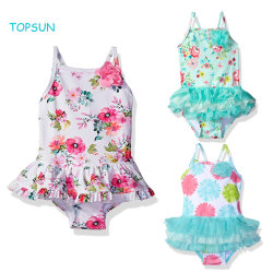 Der Sommer-Mädchen der Kinder Badeanzug-Badebekleidung mit Upf 50+ Baby-Kleidung