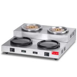 4-eléctrica de la caldera de té caliente Espresso coffee maker para almacenar el desempeño