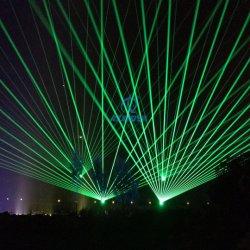 屋外の陸標の緑のビーム効果24W移動ヘッドレーザー光線