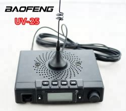 10W potere Baofeng UV-25 136-174 a due bande, radio del Mobile 400-480MHz