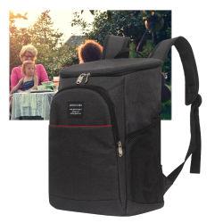 Camping en plein air de grande capacité pour le déjeuner pique-nique isotherme Sac étanche sac à dos de refroidisseur