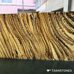 オニックスは内壁のカバーのためのアラバスターの人工的な装飾的な石をタイルを張る