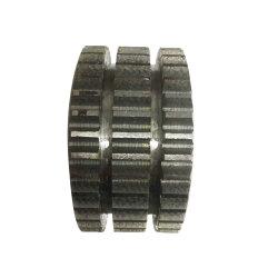 Gießen SAE1045 Stahl gerade Kegelrad hohe Präzision Kundengebundene Spur Zahnrad