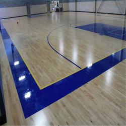 Résilience écologique Aucun DOP antidérapant plastique PVC pour revêtement de sol en vinyle de basket-ball