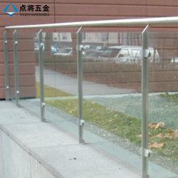 El vidrio balaustrada Post Accesorios de hardware para el exterior balcón