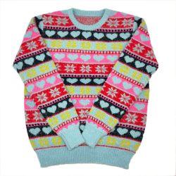 醜いクリスマスのジャンパーの子供の子供の衣服のためのカスタム卸し売りクリスマスのセーター