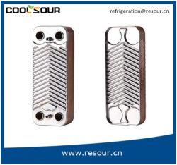 Wasser-Kondensator hartgelöteter Platten-Wärmetauscher, Abkühlung-Teile